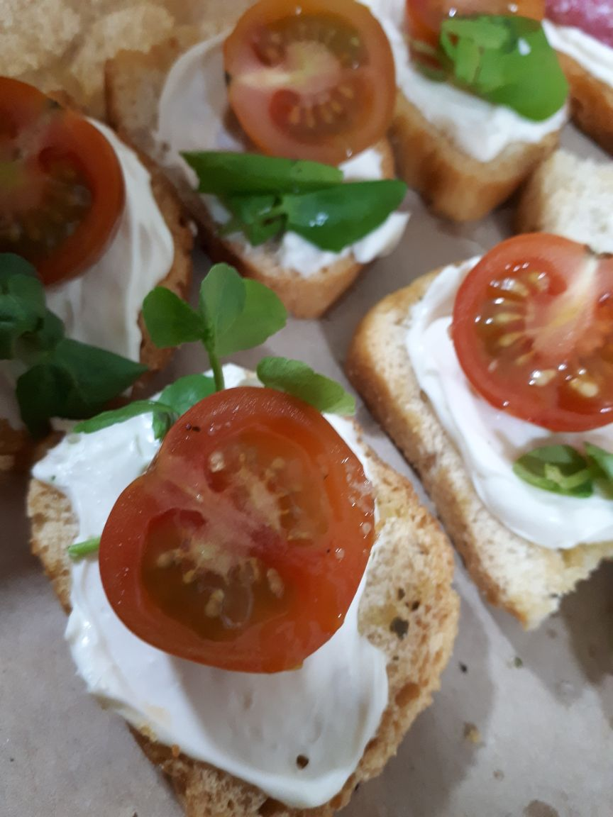 Bruschetta Tomate Cherry