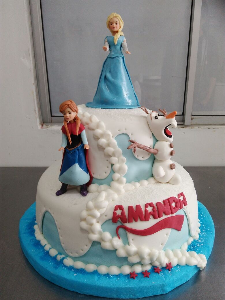 Torta Diseño Frozen