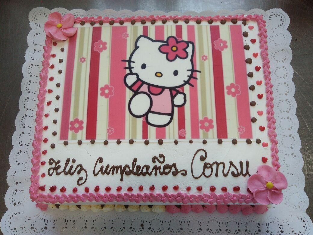 Torta Diseño Hello Kitty