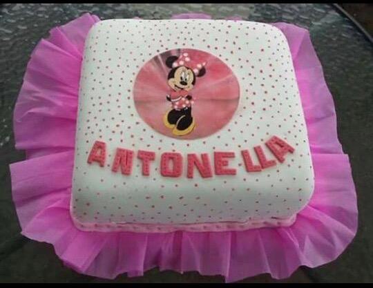 Torta Diseño Minnie