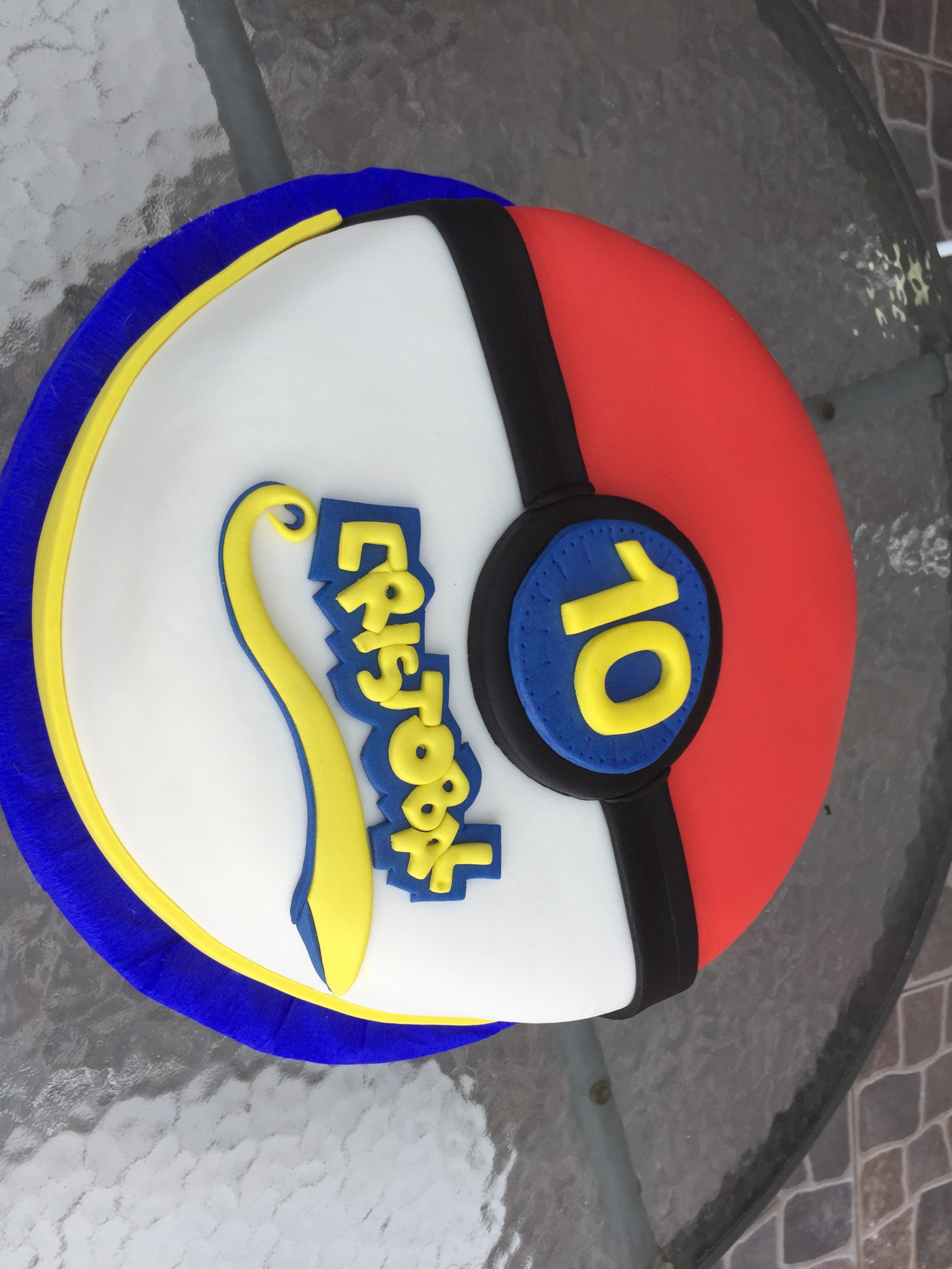 Torta Diseño Pokemón