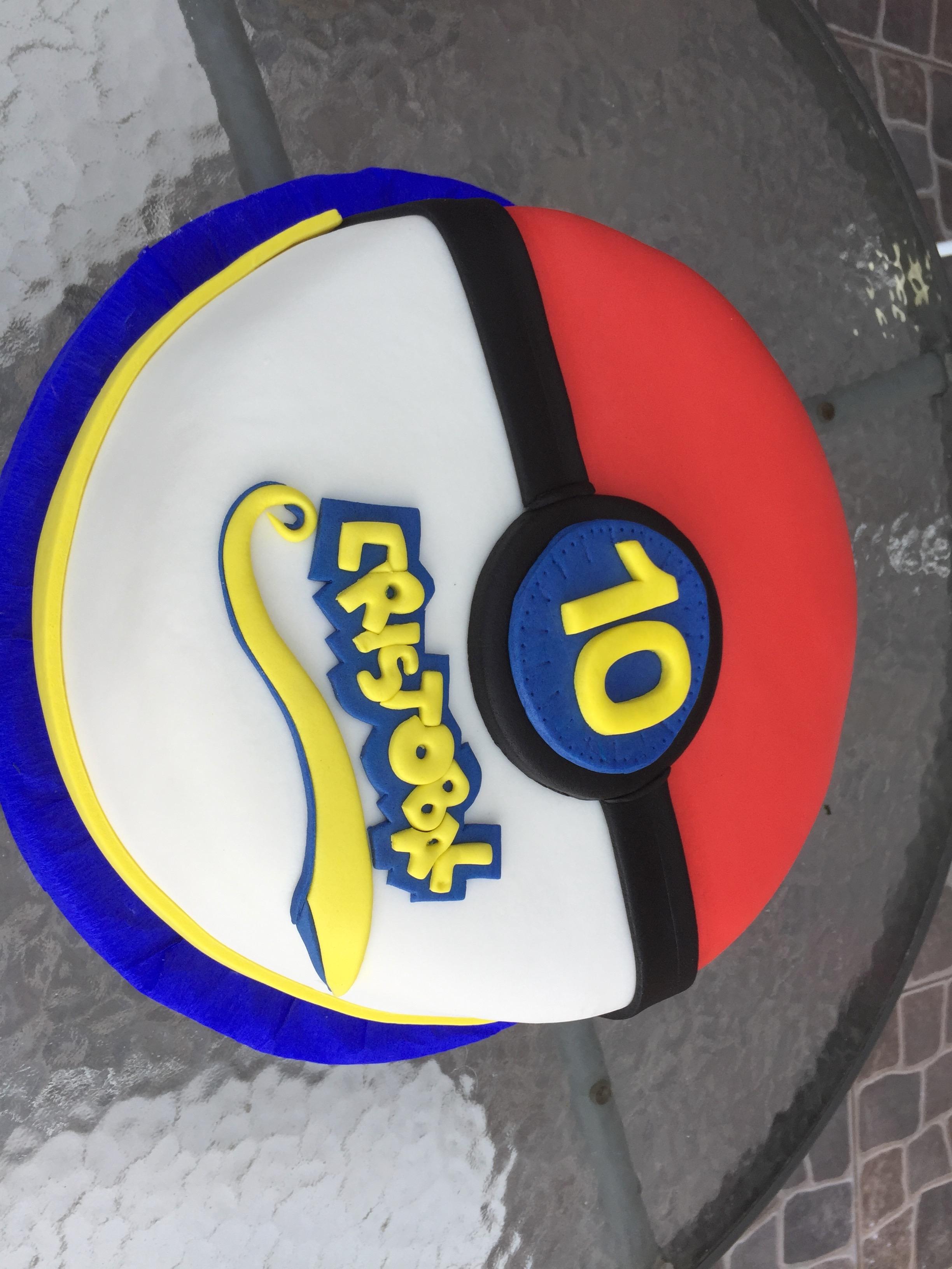 Torta Fondant Pokemón