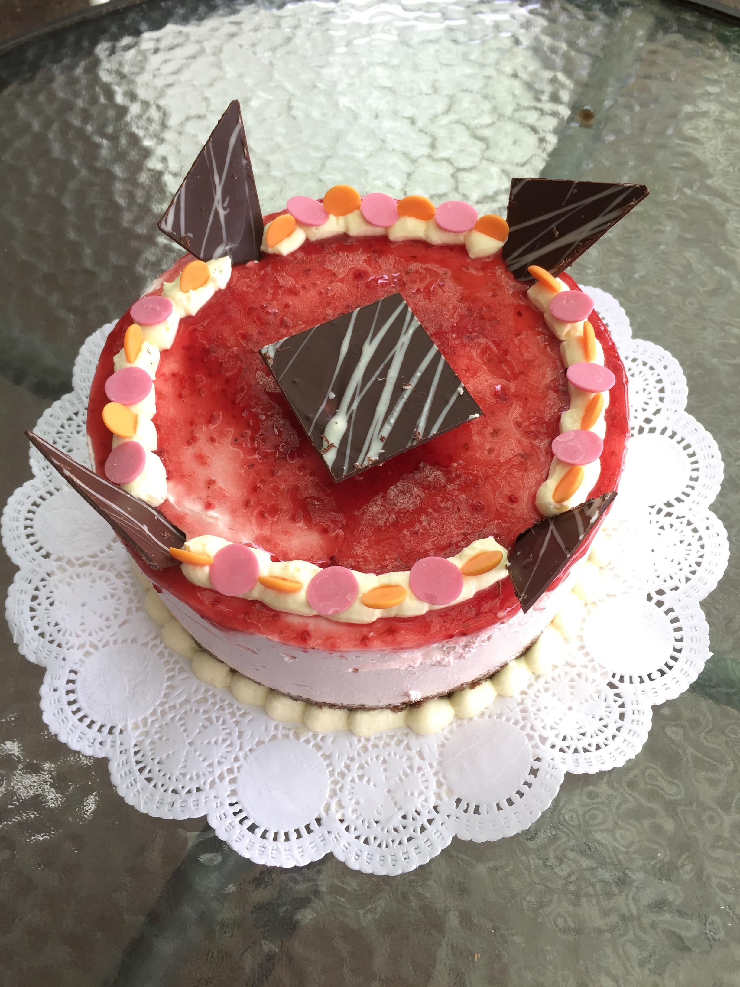 Torta Yoghurt Frambuesa